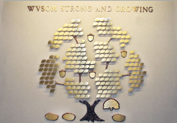 Honoring your donations with lasting symbols